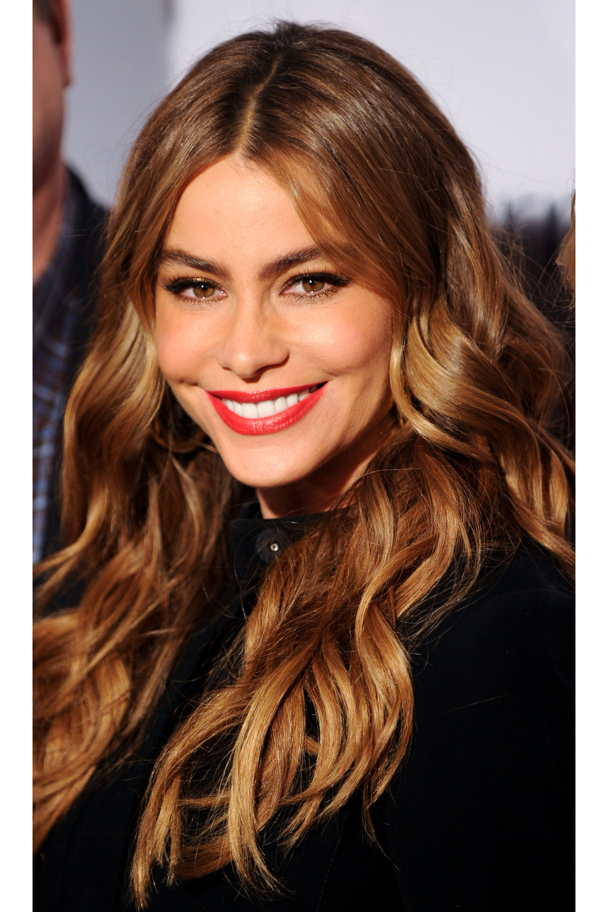 35 Long Hair Looks We Love Sofia vergara, Covergirl