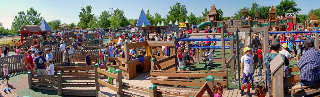 All Inclusive Playground Makes A Difference Hope Park Frisco Tx Childhood Education Playground Early Childhood Education