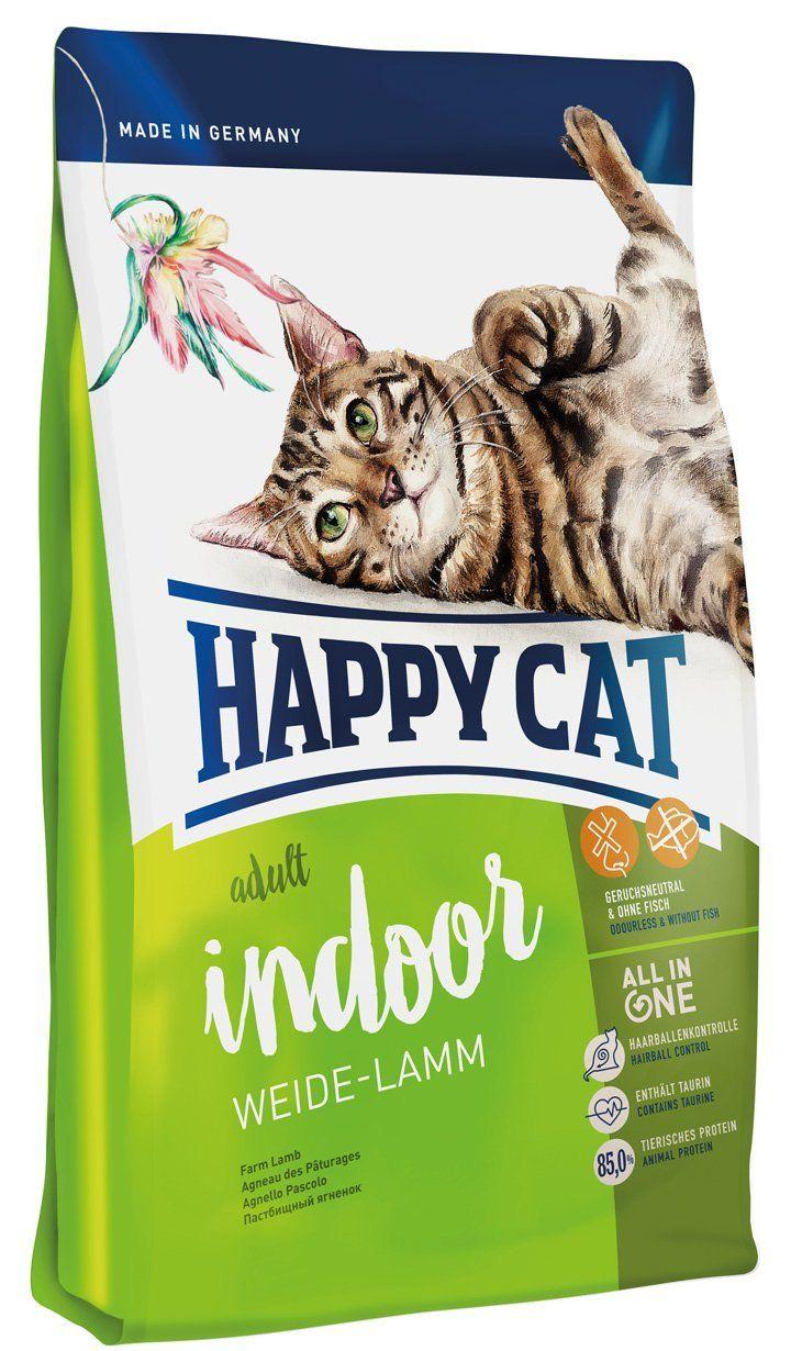Happy cat indoor wild lamb pet food 10 kg click image