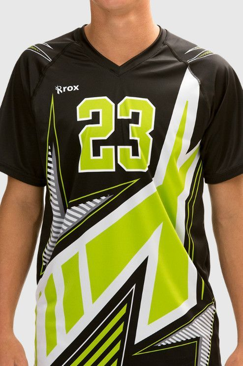 747f480d Xcelerator Men's Sublimated Volleyball Jersey | design | Volleyball ...