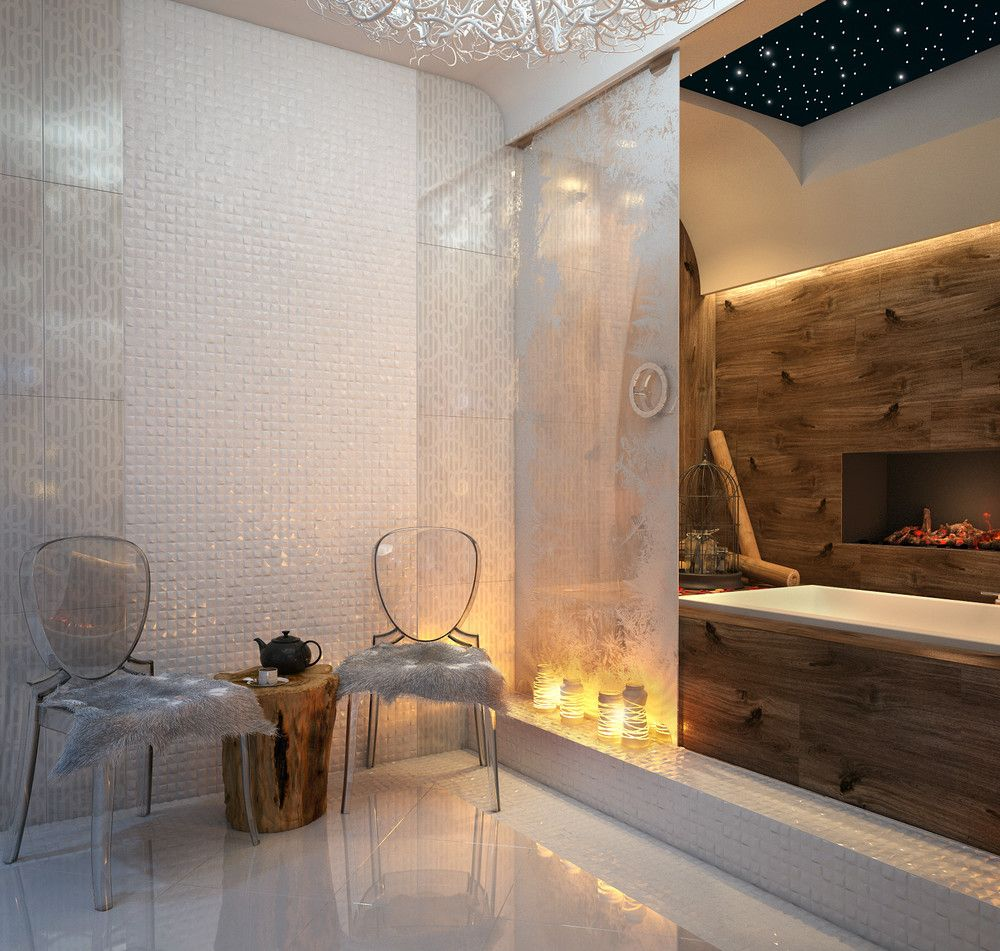 Luxury bathroom living room pinterest ghost chairs bath and