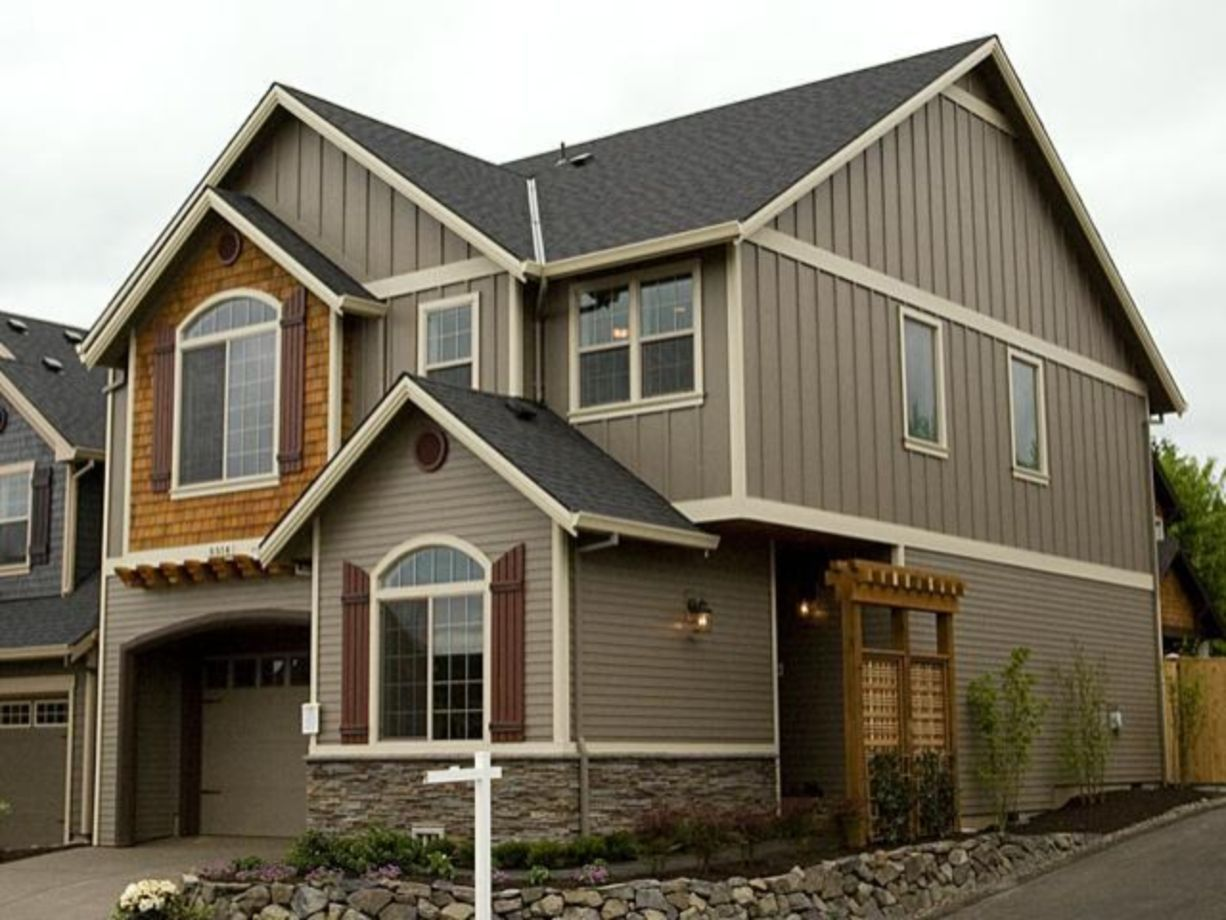 Best 40 Exterior House Colors With Brown Roof Exterior House 640 x 480