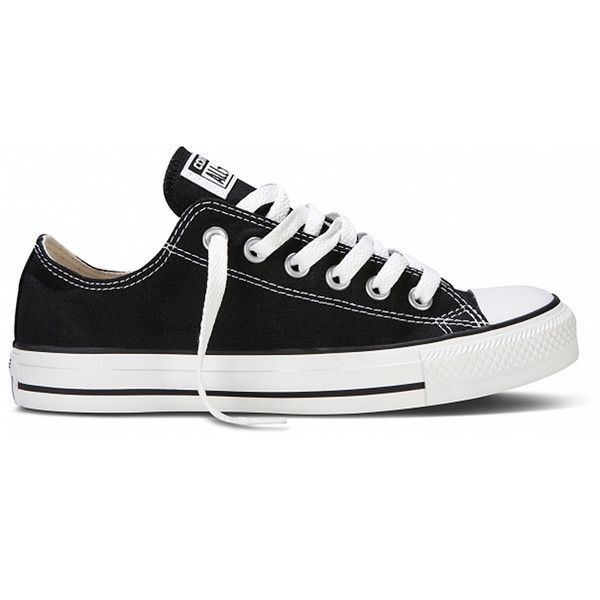 21c5a059a42d Make a statement in Converse Chuck Taylor Black Canvas iconic low top  oxfords with old skool kool! An American comfy classic with high profile  style!