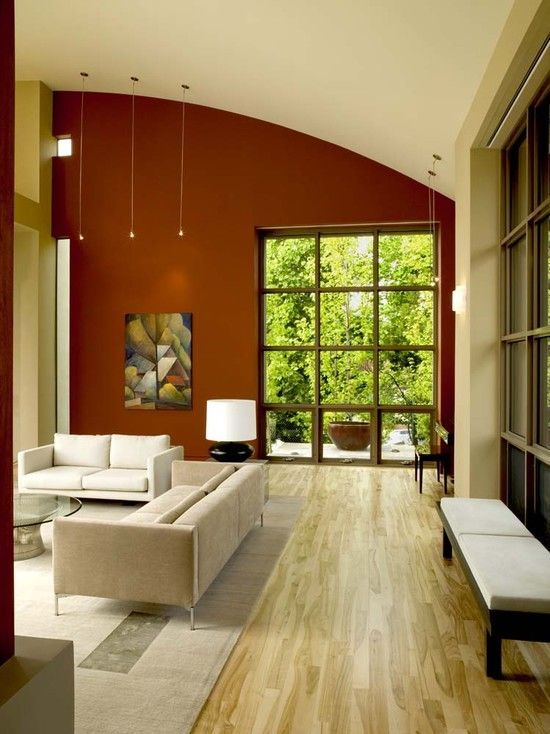 contemporary living room accent wall design, pictures, remodel