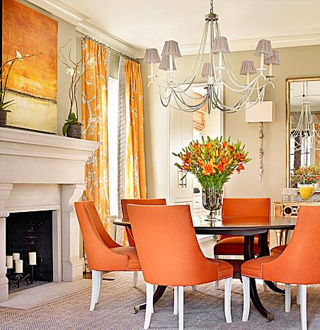 Orange Is The New Black Catherine Austin Dining Room Interior Design