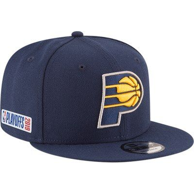 best website 58b8f 2e3d2 Indiana Pacers New Era 2019 NBA Playoffs Bound OTC 9FIFTY Adjustable Snapback  Hat – Navy
