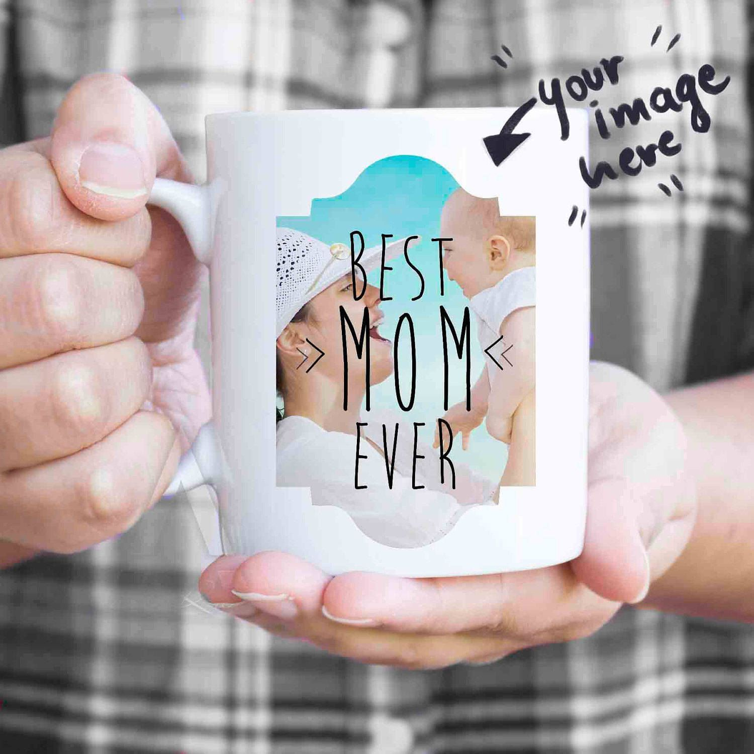 Mothers Day From Husband Mom Photo Mug Gifts For Custom Mugs Daughter New Gift Basket Mu458 By Artruss On Etsy