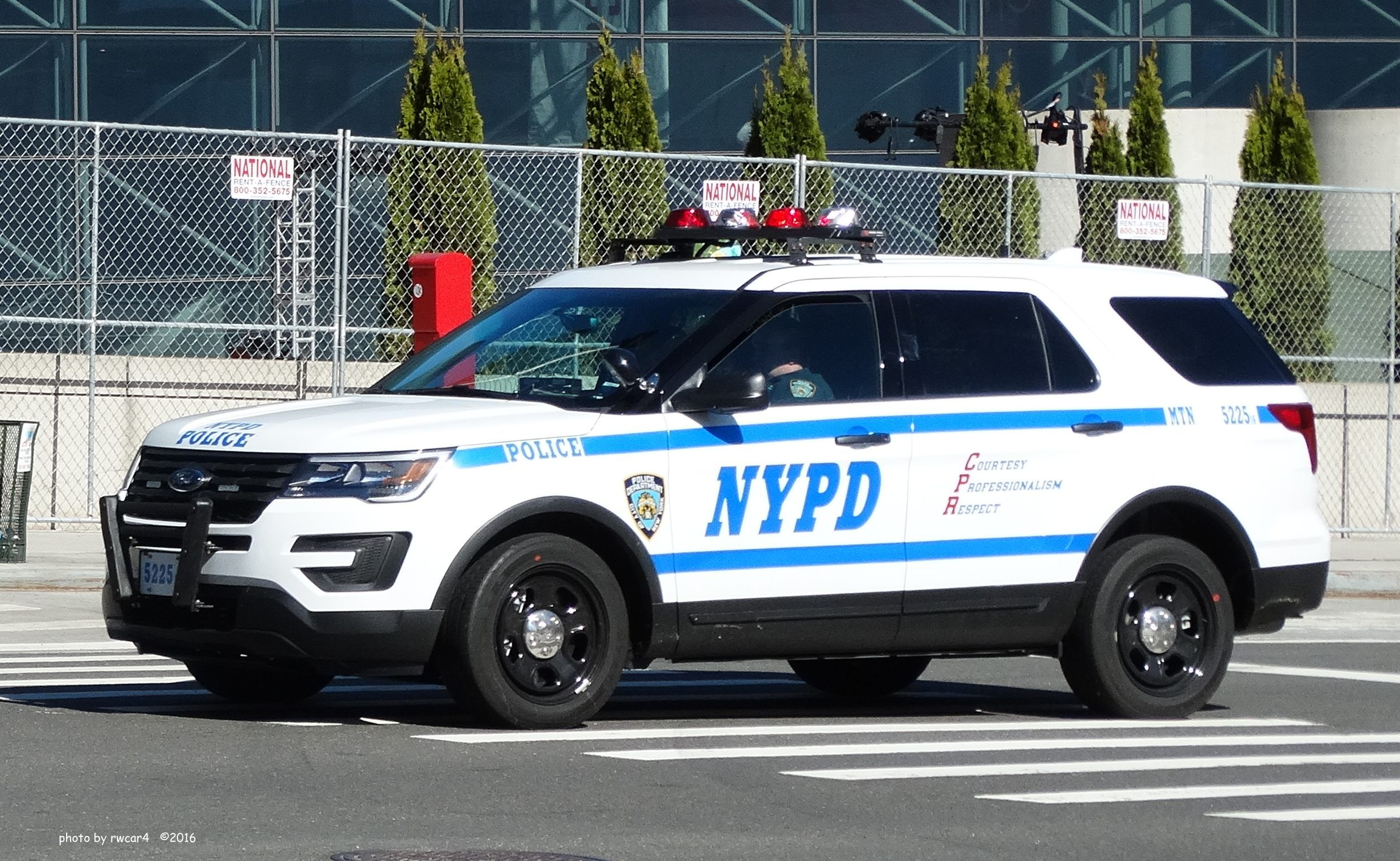 New York Nypd Ford Police Interceptor Vehicle