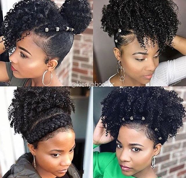 Follow Narissademery For More Great Pins Amosc Nariisssa Natural Hair Styles Prom Hairstyles For Short Hair Curly Hair Styles Naturally
