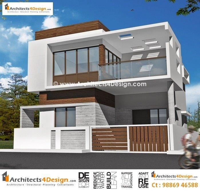 Duplex house plans in 1000 sq ft homes pinterest for Front view of duplex house in india