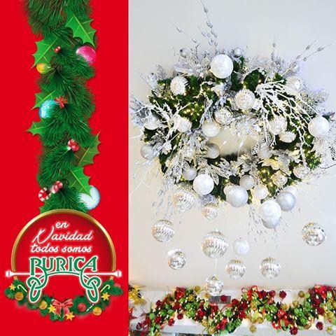 para navidad adornar columnas guirnaldas escaleras elementos tiendas medellin