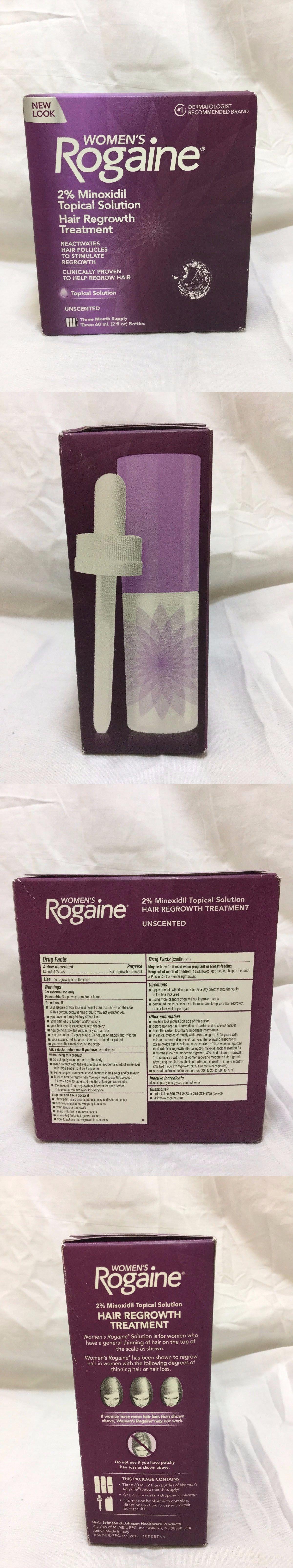 Hair Loss Treatments Rogaine Women S Hair Regrowth Treatment