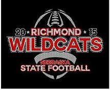 high school football t shirt design state football