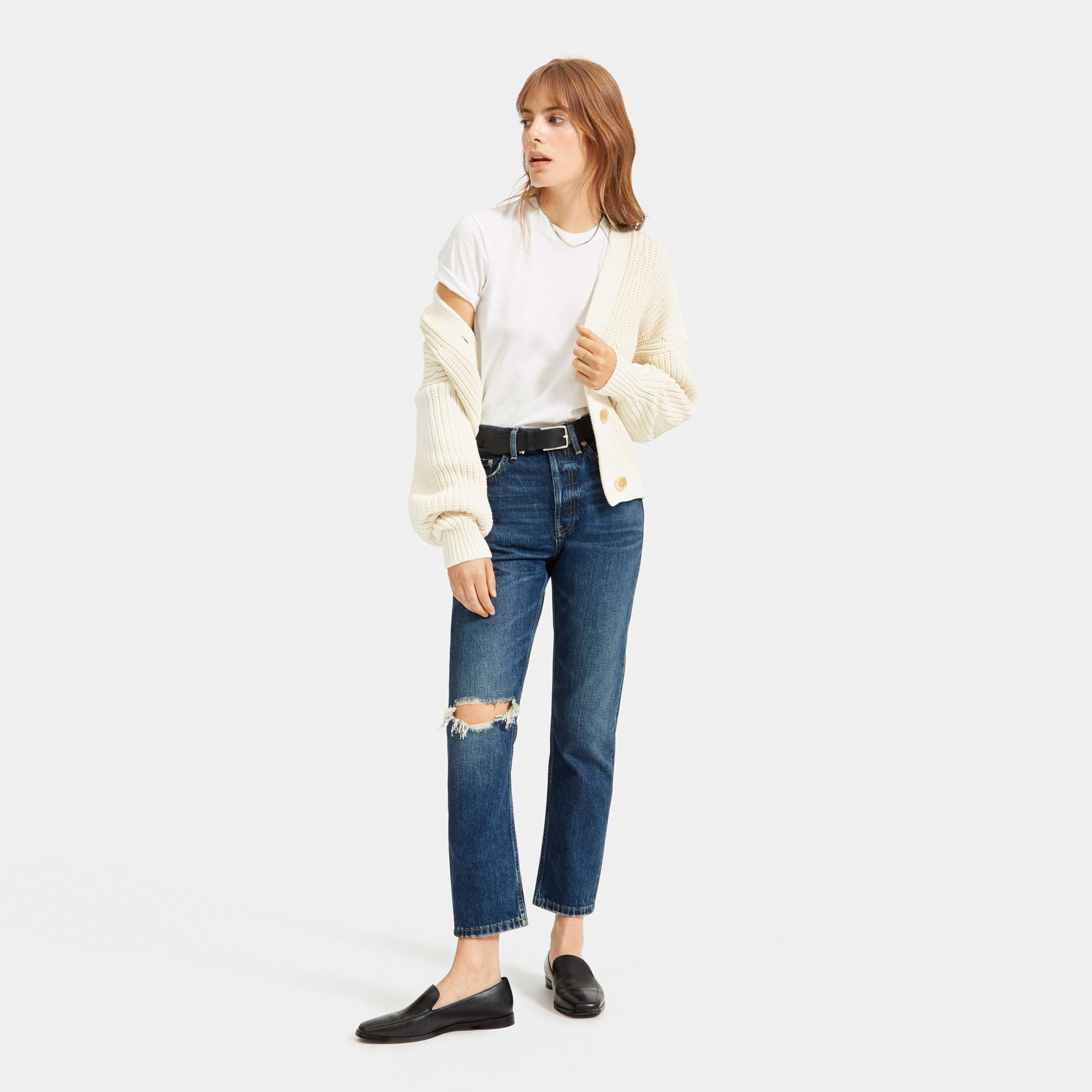 Womens Sadie Authentic Stretch Crop Jeans