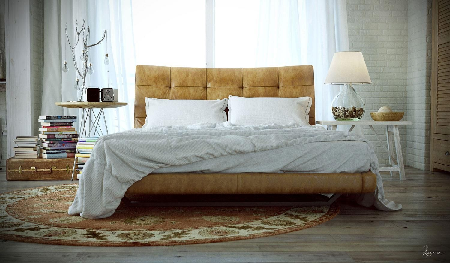 """Bedroom Furniture Spot ramon zancanaro - """"the g-spot of the bed and art"""" 