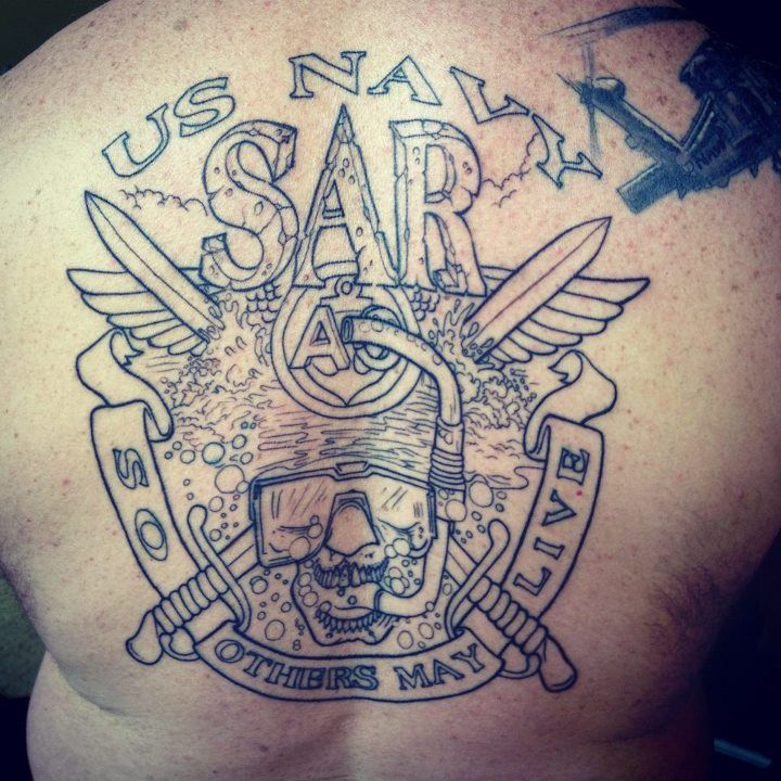 Tattoo Ideas Navy: US Navy Tattoo On Back