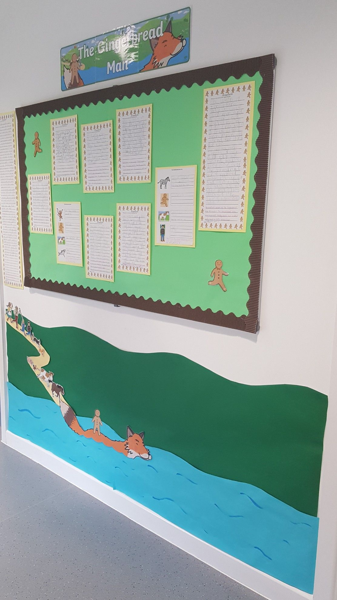 The Gingerbread Man Classroom Display T4w Talk For
