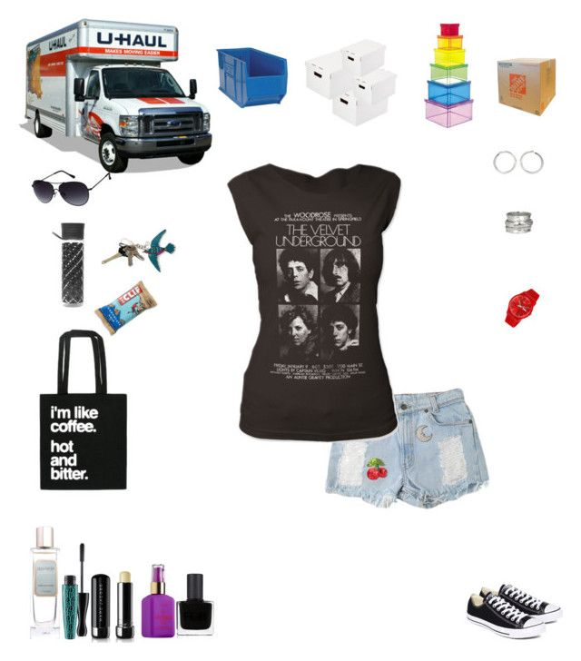"""Final Moving Day!"" by sereneowl ❤ liked on Polyvore featuring Orla Kiely, Laura Mercier, Sophie Buhai, MeditationRings, Swatch, Converse, MAC Cosmetics, Marc Jacobs, Gucci and Kenneth Cole Reaction"