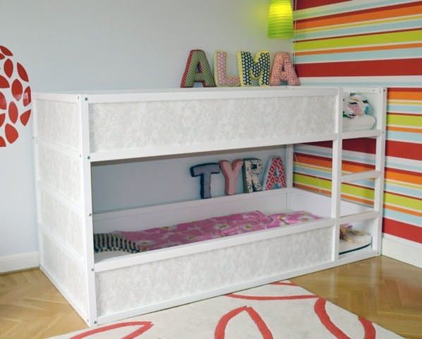 Using Ikea S Low Loft As A Bunk Bed