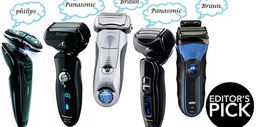 ratings on electric shavers