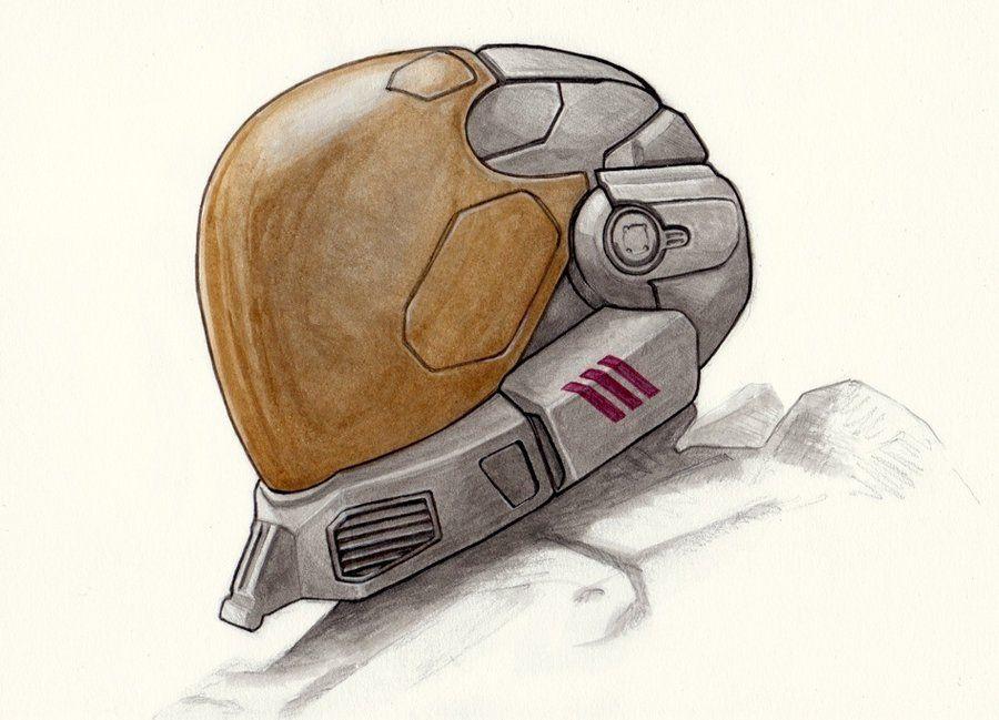 Halo: Reach EVA Helmet by PennNorris.deviantart.com on @deviantART