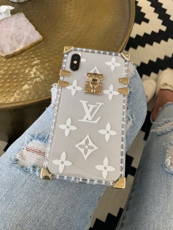 Clear Gold Case in 2020 Pretty iphone cases, Louis