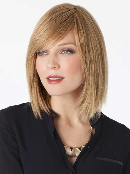 15 Latest Long Bob With Side Swept Bangs Bob Haircut And Hairstyle Ideas Haircut Images Bob Hairstyles Bob Hairstyles With Bangs
