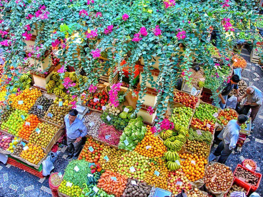 Mercado do Funchal. Foto de Rory McDonald.
