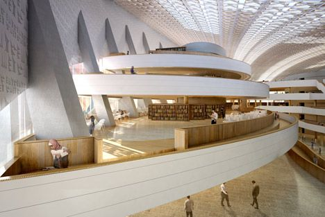 Library Designs designs unveiled for new public library in iraq | architects and