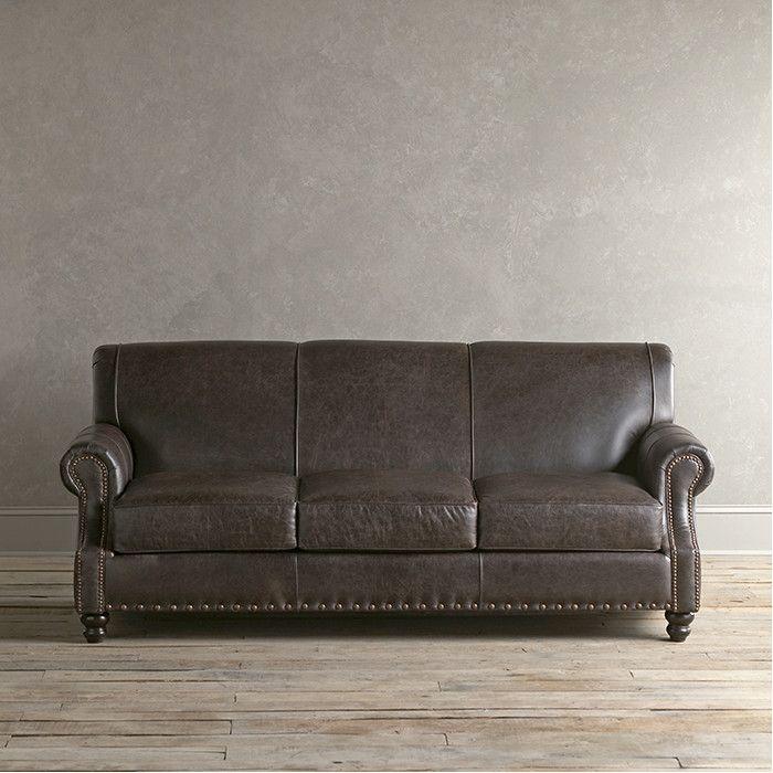 Birch Lane Landry Leather Sofa | Birch Lane