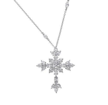 22 mm Sterling Silver 925 Cross Pendant Jewels Obsession Cross Pendant