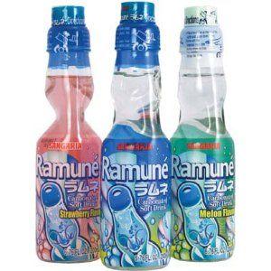 Ramune Japanese Marble Soft Drinks