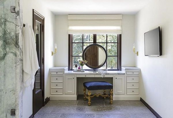 bathroom furniture built in vanity table with mirror # ...