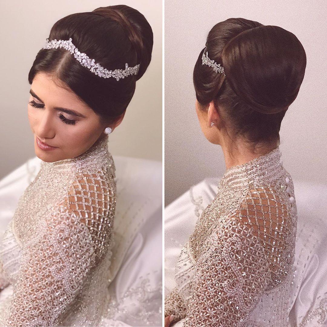 #wedding #weddingdress #instawedding #justmarried #weddingday Penteado escolhido por thaisbmh .Belez...