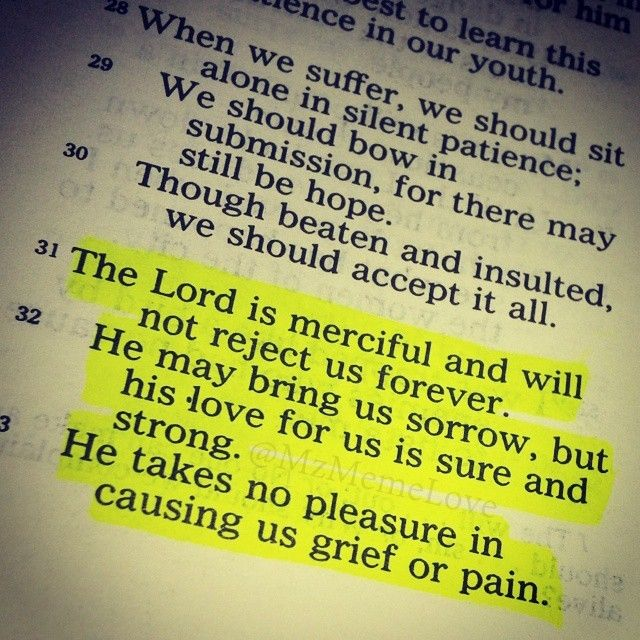 When Things Fall Apart Just Try And Focus On God's Love