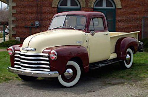 1952 Chevy Truck Paint Colors