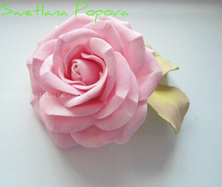 Мастер-класс Цветы, Розы, Цветы