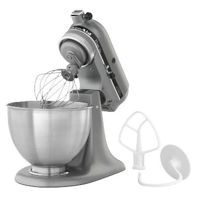 Kitchenaid Classic 4 5 Qt Stand Mixer Ksm75 Silver
