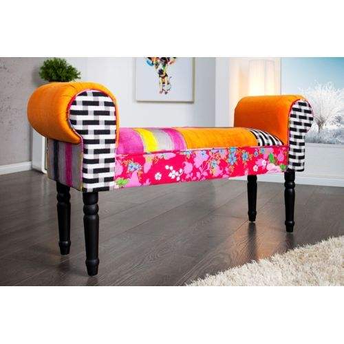 Chloe Decoration Banc design Ibiza multicolor 2 pas cher Achat