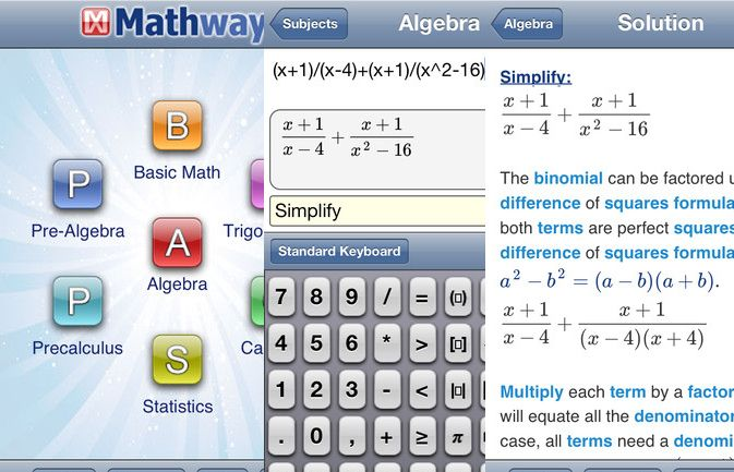 25 Apps College Students Shouldn't Live Without | College ... Mathway Alge on