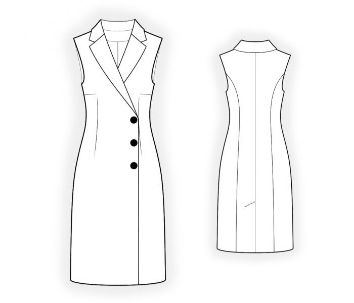 Modèles pour tailles individuelles   – Vestidos
