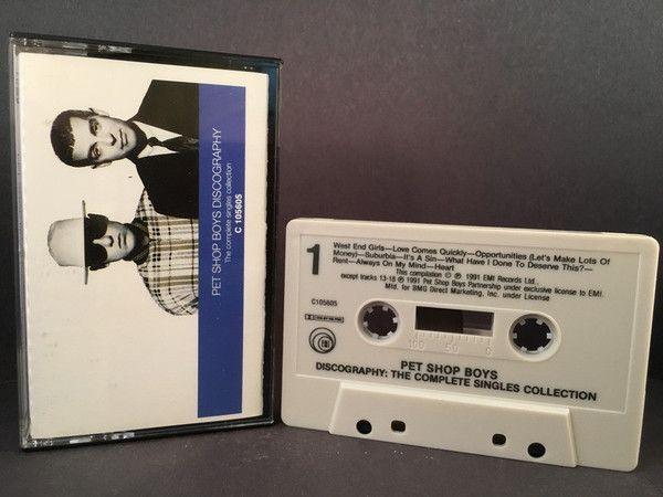 Pet Shop Boys Discography Singles Cassette Electronic New Wave