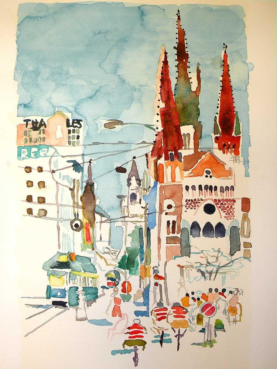 Melbourne por Charo Onieva