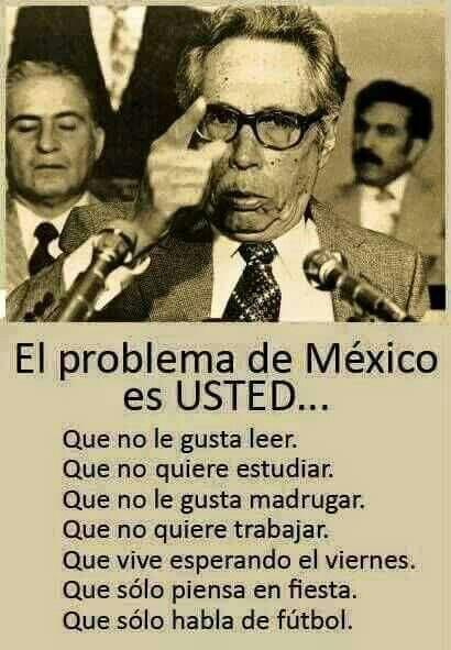 El problema de México