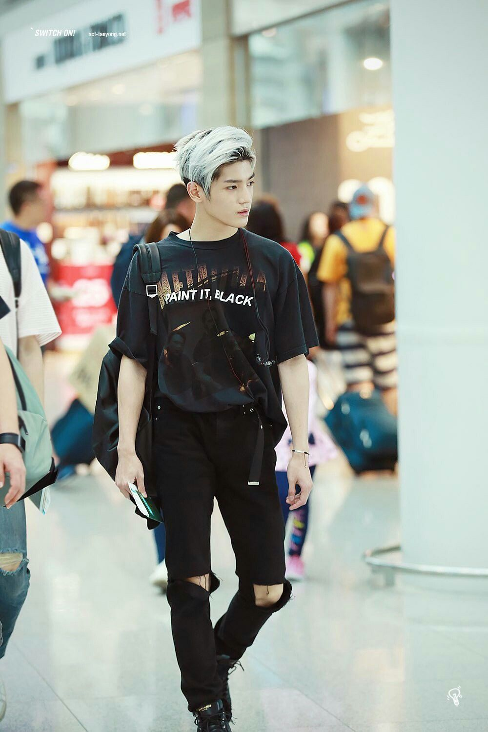 Taeyong Korean Fashion Kpop Korean Fashion Men Nct