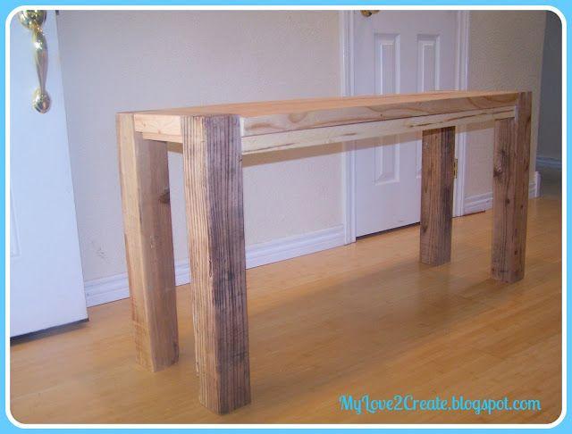 Counter Height Bench Tutorial Counter Height Bench Bar Height