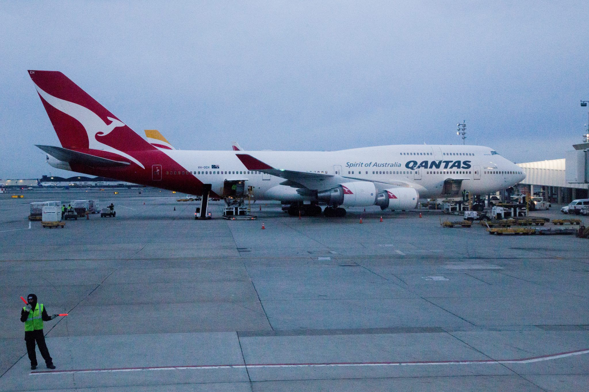 Qantas retires the Boeing 747 Jumbo Jet in 2020 747