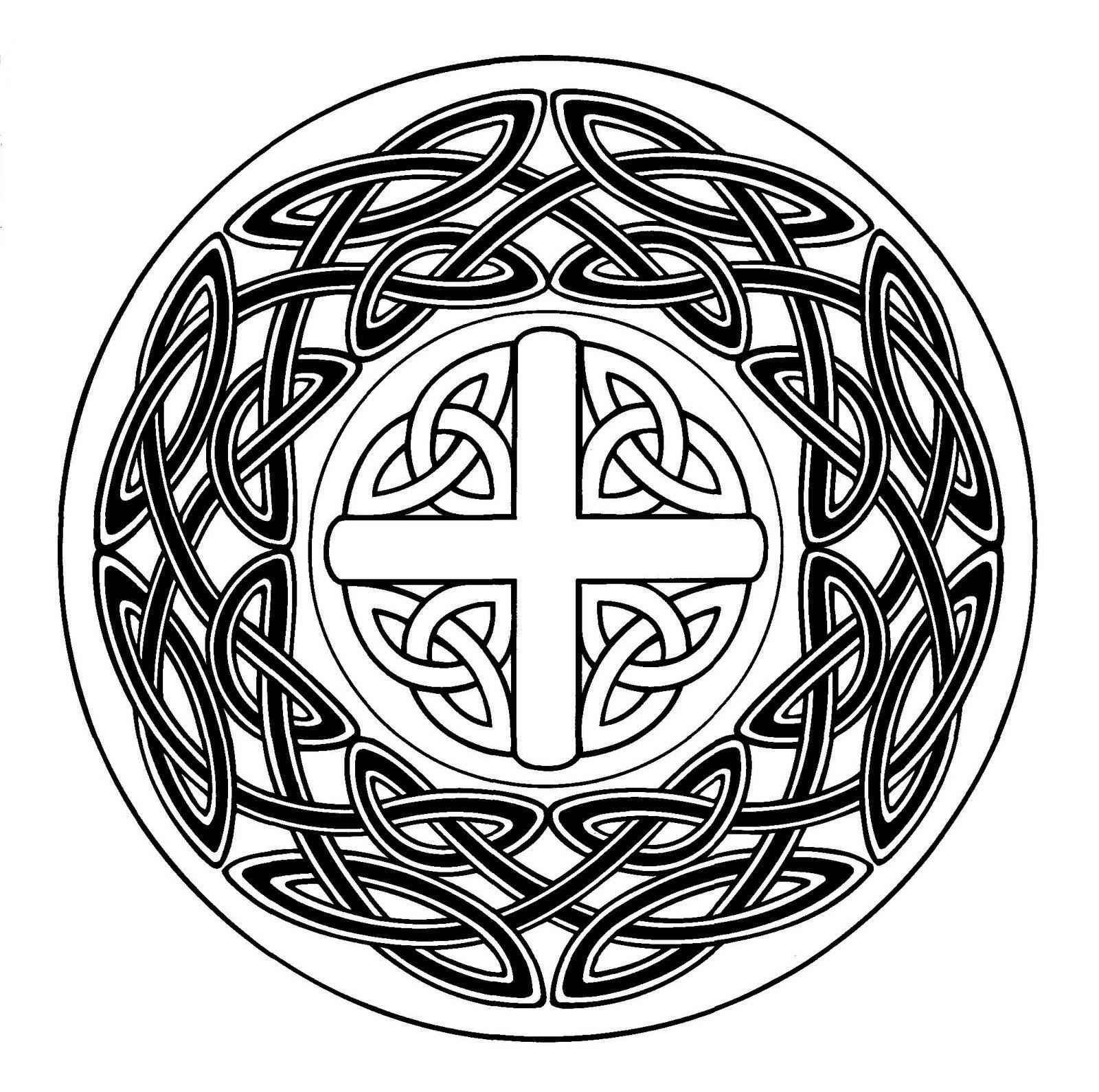 Mandalas Para Pintar: Los tres círculos de la existencia   geometria ...