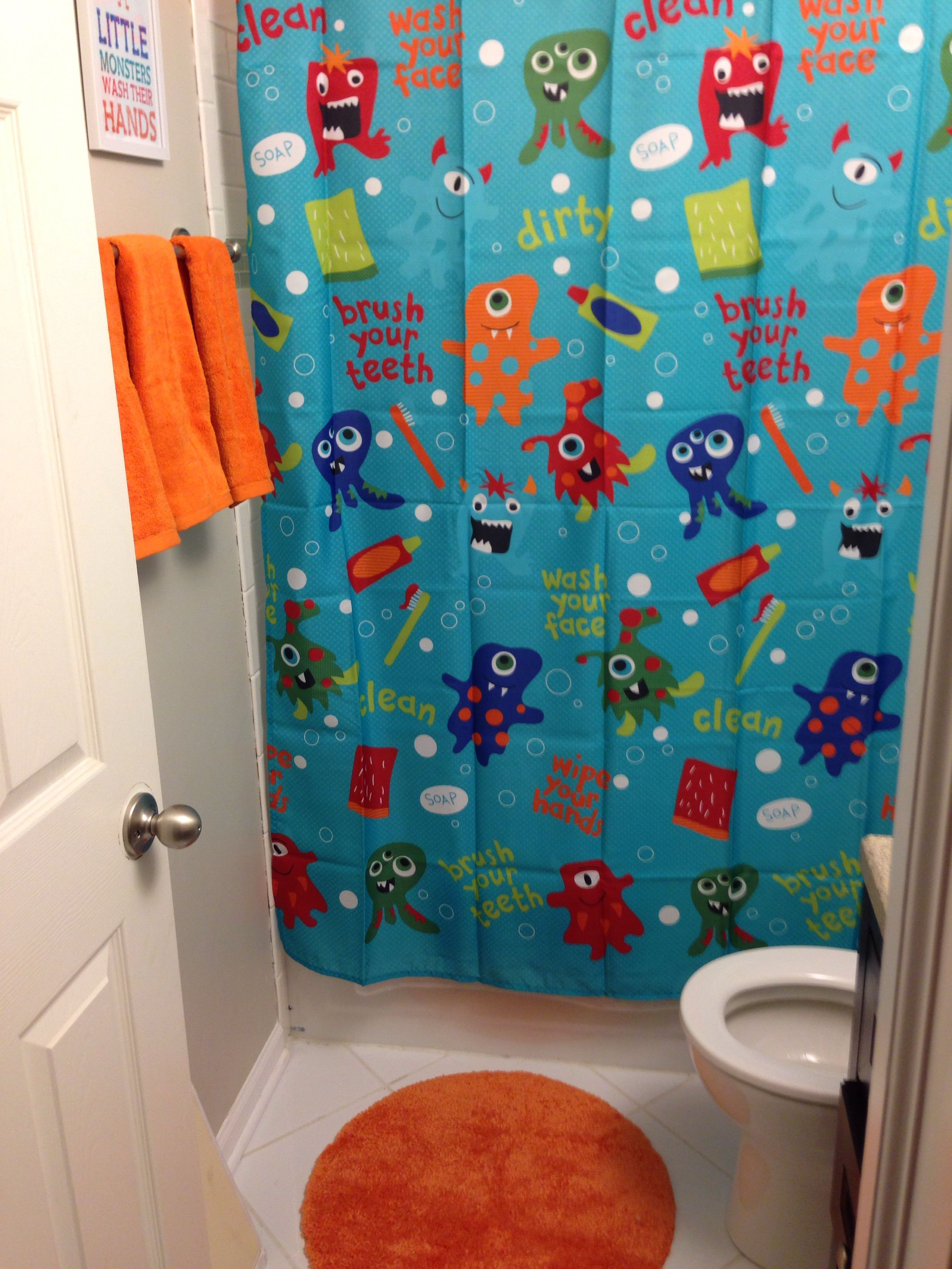 Kids Monster Bathroom Bathroom Kids Kid Bathroom Decor Boy