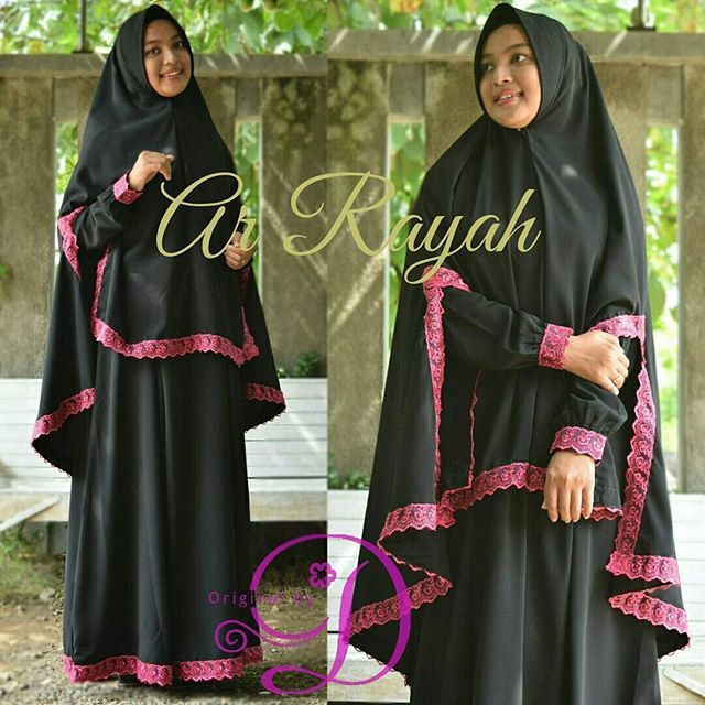 Model Baju Renda Abaya 3
